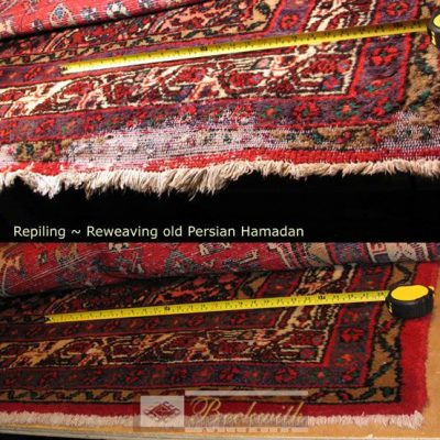 Repiling & Reweaving Old Persian Hamadan