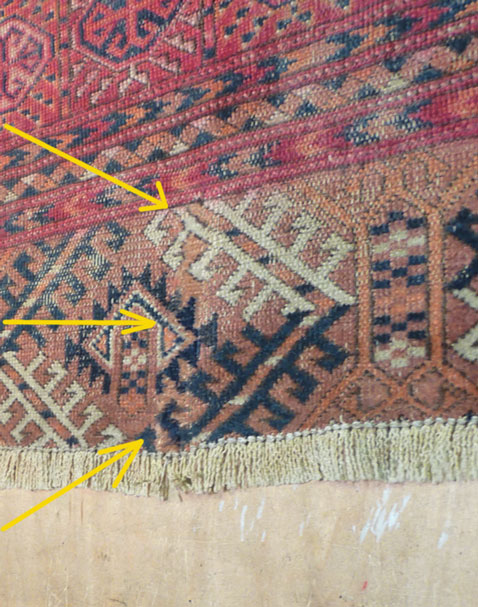 Oriental Rugs reweaved