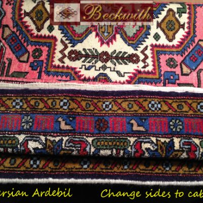 Silk Field Persian Ardebil - Change Sides to Cable & Bind