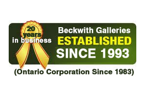 Beckwith Galleries Established Ontario Corporation logo